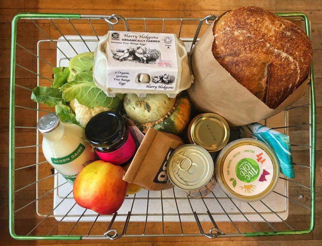 organic veg box scheme
