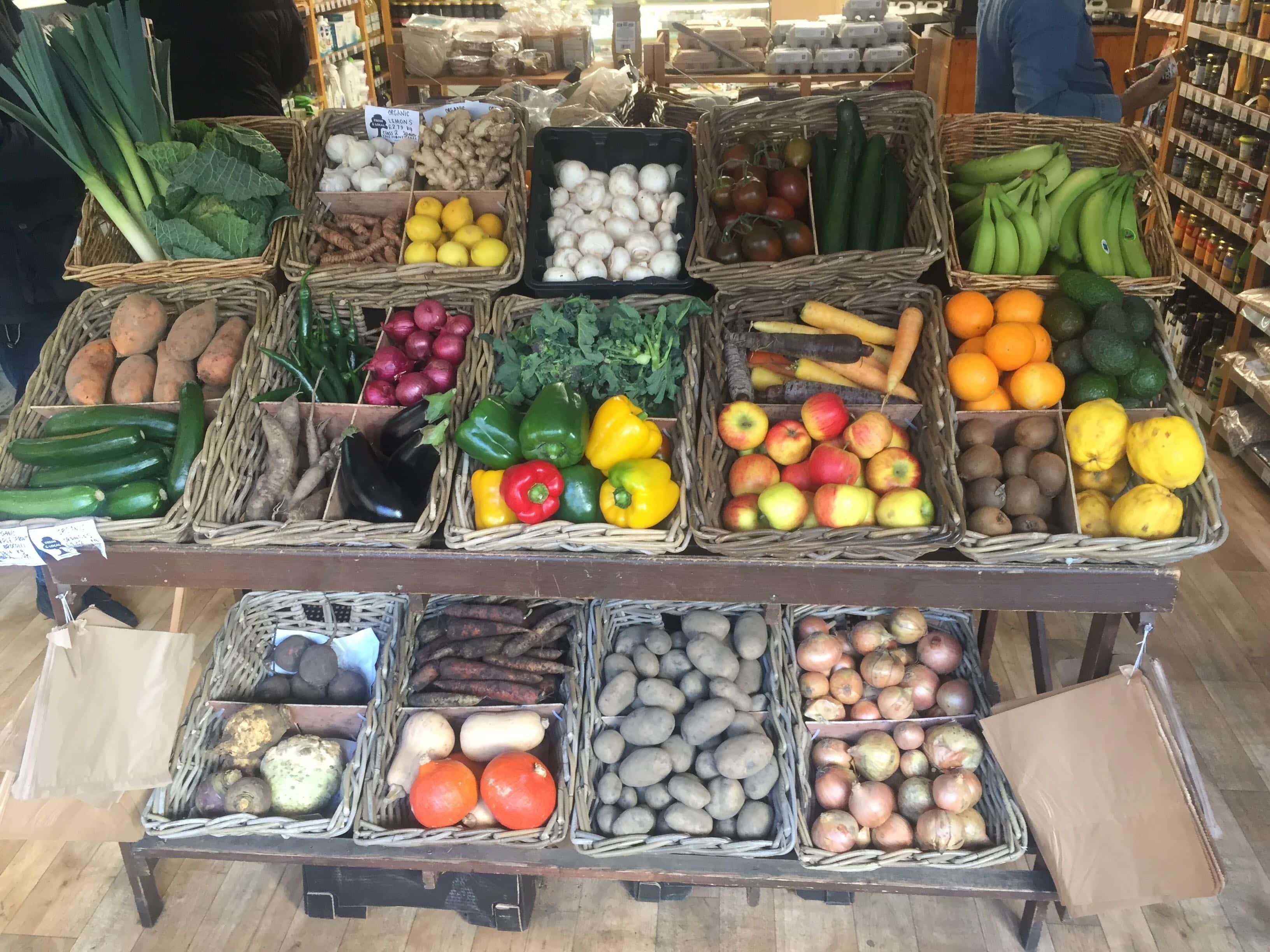 organic greengrocer